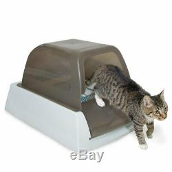 PetSafe ScoopFree Ultra Self-Cleaning Litter Box Automatic with Disposable Tray