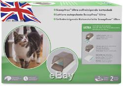 PetSafe ScoopFree Ultra Self-Cleaning Litter Box, Hygienic, Odour Free For Cats
