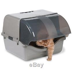 Petmate Retracting Litter Tray Exra-Large Capacity Larget Cats Multi-cat Homes