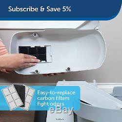 Pets Self Cleaning Litter Box System Works With Clumping Cat Litter Reduces Odor