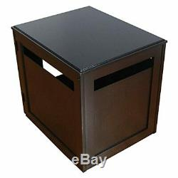 Petsfit Pet House/Cat Litter Box Enclosure Night Stand Painted with Non-Toxic an