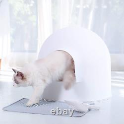 Pidan Igloo Cat Litter Box Enclosure with lid, High Dome Covered Litter Box Hous