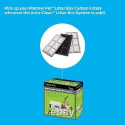Premier Pet Auto-Self Clean Litter Box System Works with Clumping Cat Litter New