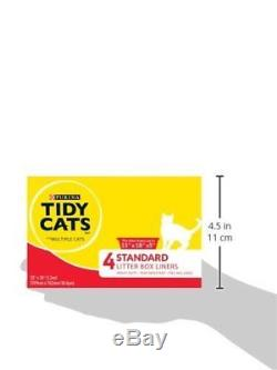 Purina Tidy Cats Standard 22 X 30 with Ties Litter Box Liners 12 4 ct. Box