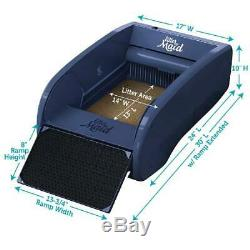 Regular Cat Self Cleaning Litter Box With Automatic Scooping Rake Waste Removal