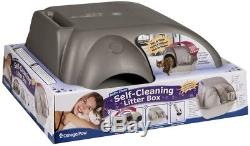 Roll'n Clean Self Cleaning Cat Litter Box, Regular