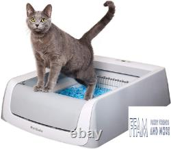 ScoopFree Automatic Self-Cleaning Cat Litter Box 2nd Generation withCat Litter
