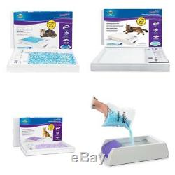 ScoopFree Self Cleaning Cat Litter Box Tray Refills Non Clumping Crystal 3 Pack