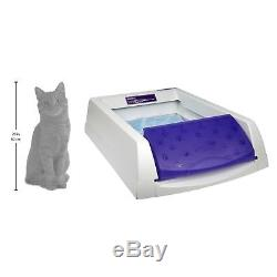 Scoopfree Self Cleaning Cat Litter Box Crystal Urine Absorber Waste Dehydrator