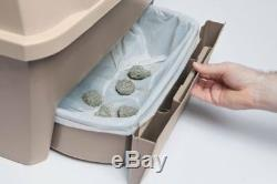 Self Cleaning Cat Litter Box Automatic Pan Lid Cover Multiple Kitty Clumping NEW