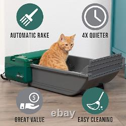 Self Cleaning Litter Box Smart Scoop Automatic Hands Free Pet Cat Waste Disposal