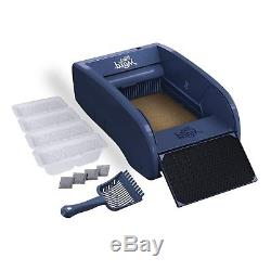 Self Cleaning, Multi Cat Litter Box With Carbon Filters And Waste Receptacle, NEW