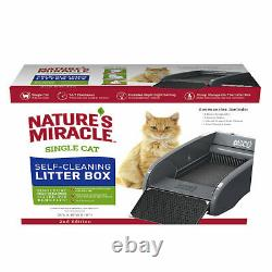 Single Cat Automatic Electric Self-Cleaning Litter Box 2nd Edition, 24x18x10