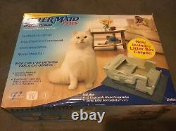 Single Cat Automatic Self-Cleaning Litter Box LitterMaid LM600 with Cartridges