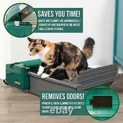 Smart Scoop Automatic Litter Box Self Cleaning Litter Box, Cat Litter Box with
