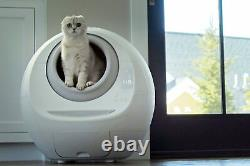 Smarty Pear Leo's Loo Covered Automatic Self-Cleaning Cat Litter Box Deluxe