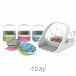 Surefeed Automatic Microchip Pet Feeder Bowl for Cats & Dogs + Bonus Collar Tag