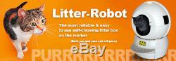 The Litter-Robot Automated Self Cleaning Cat Litter Box Made in USA