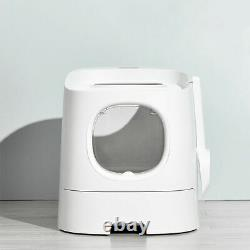 Top / Front Entry Modern Cat Litter Box With Smart Odour Control & Anti Tracking