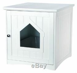 Trixie 40290 Cat House for Litter Tray 49×51×51 cm, White