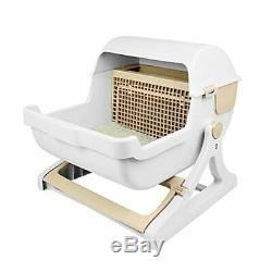 UEETEK Cat Toilet Body Semi-automatic Dome Half Cover No Smell Mechanism JAPAN