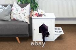 Upp Premium Cat House Cabinet With Feeding Station