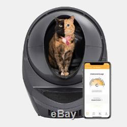 WiFi-enabled, Automatic, Self-Cleaning Litter Box, Litter-Robot 3 Connect (Grey)